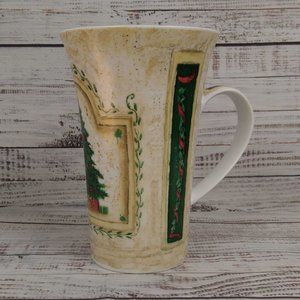 Pimpernel Fine Porcelain Christmas Tree Coffee Mug